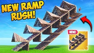 *NEW* EPIC RAMP RUSHING TRICK! - Fortnite Funny Fails and WTF Moments! #465