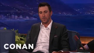 Justin Verlander Eats Taco Bell Before Every Game - Conan on TBS