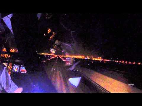 A340-300 Hong Kong VHHH Night Takeoff