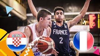 Croatia v France - Semi-Final - Full Game - FIBA U16 European Championship 2018
