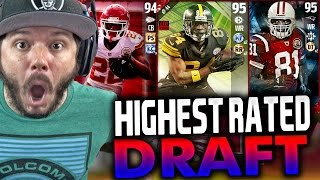 HIGHEST OVERALL DRAFT!! FAIL - MADDEN 17 DRAFT CHAMPIONS