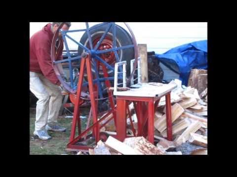 """The Wheel of Debt"" Wood Splitter"
