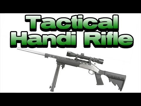 Tactical H&R Handi Rifle Single Shot .223