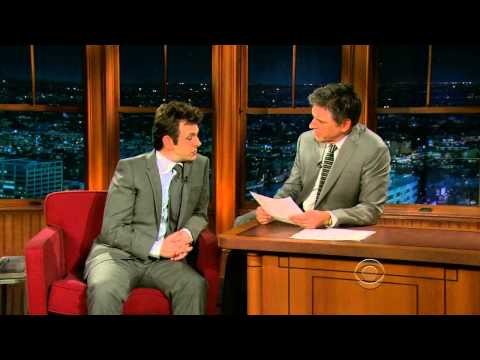 Late Late Show with Craig Ferguson 3/3/2010 Michael Sheen, Amy Ryan