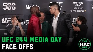 UFC 244 Media Day Staredowns