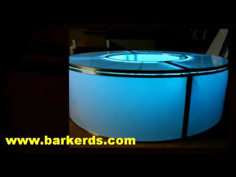Illuminated Bar Plexiglass Translucent Acrylic Plastic For