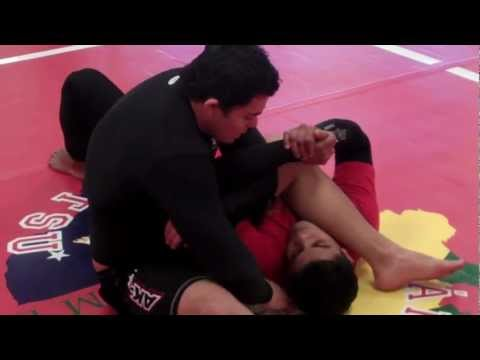 Brazilian Jiu Jitsu Technique - Arm Bar to Triangle Image 1
