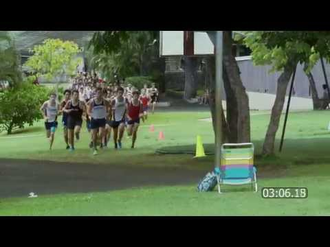 2014 Boys Cross Country: Punahou Invitational (October 4, 2014)