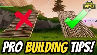 HOW TO BUILD LIKE A PRO in FORTNITE BATTLE ROYALE! BUILDING GUIDE TO HELP YOU WIN in FORTNITE!