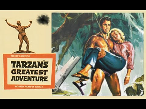 Tarzan's Greatest Adventure starring Gordon Scott, Sara Shane, Anthony Quayle and Sean Connery