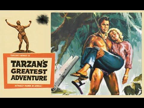 Tarzan's Greatest Adventure starring Gordon Scott, Sara Shane, Anthony Quayle and Sean Connery