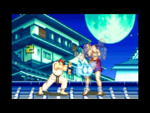 Super Street Fighter 2 Revival: Super Combo Exhibition [GBA]