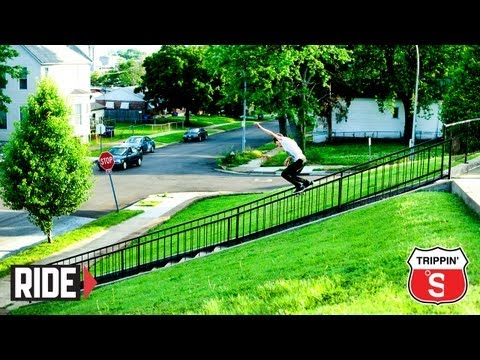 Aaron &quot;Jaws&quot; Homoki's Monster Kickflip and More! - TSM Trippin'