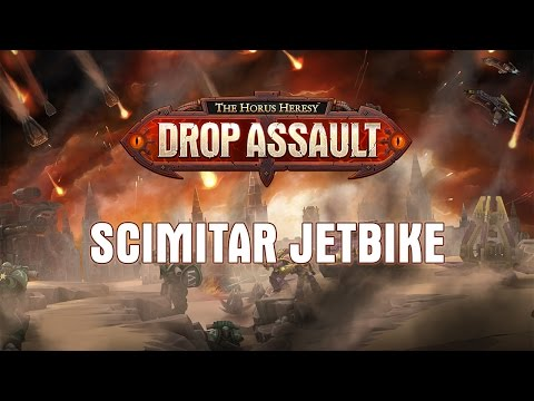 Scimitar Jetbike Showcase | The Horus Heresy: Drop Assault - Warhammer 40,000