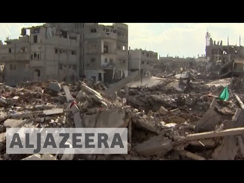 Six months after war, Gaza still in ruins