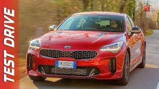 NEW KIA STINGER 2018 - NIZZA - FIRST TEST DRIVE