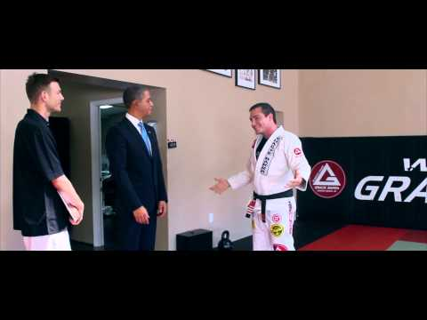 President Barack Obama training Brazilian Jiu-Jitsu | Martial Arts in Burbank California Image 1