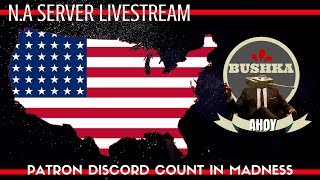 LIVE STREAM N.A.SERVER PATRON DISCORD COUNT INS
