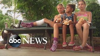 9-year-old bitten by shark in knee-deep water l ABC News
