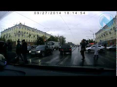 В Новокузнецке Водители били пешеходов, а пешеходы – водителей!