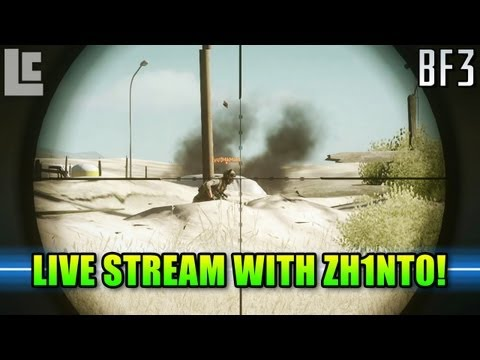 Live Streaming With Zhint0 BF4 Producer! (Battlefield 3 Gameplay/Commentary)