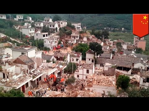 China's Yunnan Province hit by 6.5 magnitude quake, at least 360 killed