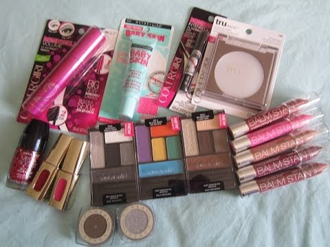HAUL! New Drugstore Makeup for 2014!