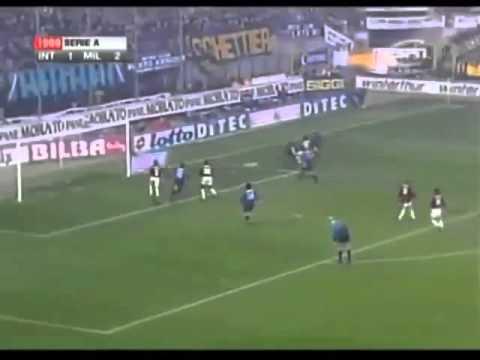 Inter-Milan 2-2 gol di Javier Zanetti