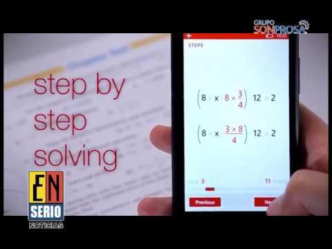 #EnLasBuenas Aplicación que resuelve ecuaciones y problemas matemáticos