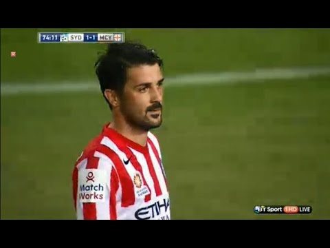 David Villa First goal for Melbourne City | Sydney vs Melbourne City 11.10.2014
