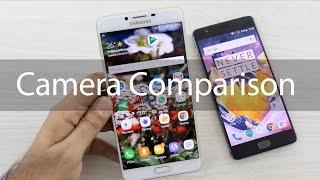 Samsung Galaxy C9 Pro vs OnePlus 3T Camera Comparison