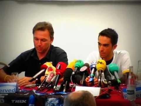 Alberto Contador Press Conference 2007