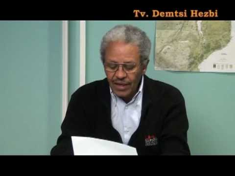 Tv. Demtsi Hezbi EPDP Chairman Mr. Mengsteab Asmerom New Year Message to Eritreans