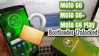 Moto G6/G6+/G6 Play Unlock Bootloader Easiest Way