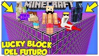 LA SFIDA DEI LUCKY BLOCK GIGANTI DEL FUTURO! - Minecraft ITA
