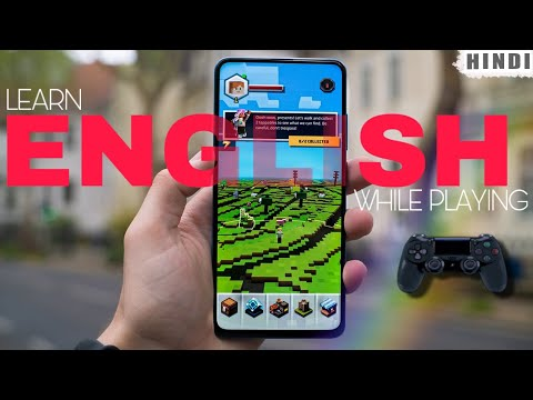 Learn English While Playing Games