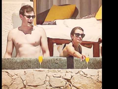 Lea Michele and Cory Monteith in Cabo, Mexico [7.4.12]