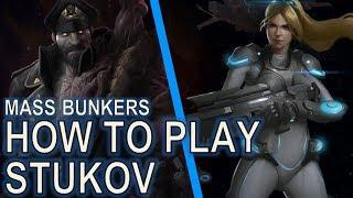 Starcraft II: How to Play Stukov Mass Bunkers
