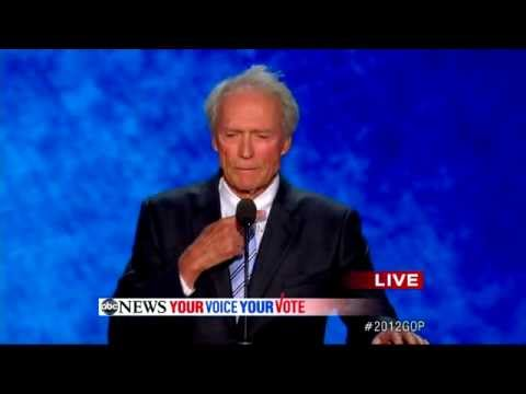 Clint Eastwood RNC Speech (COMPLETE): Actor Assails Obama Through Empty Chair