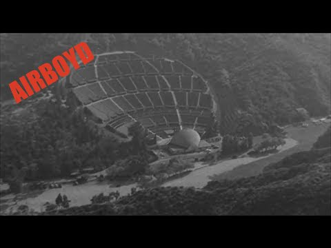 Flight Over Hollywood Bowl, The 101 & Movie Studios (1940's)
