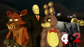 Slendy vs Animatronics | Left 4 Dead 2 Fazbear