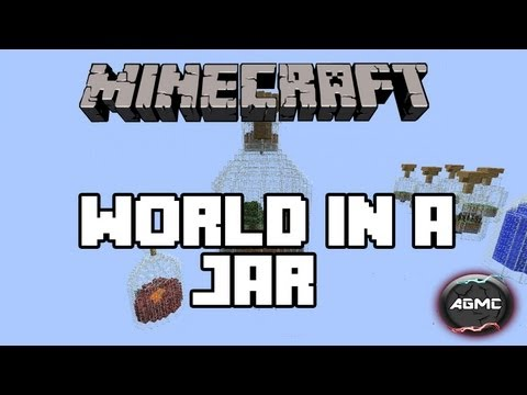 Minecraft Map Review: World in a jar
