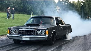 Burnouts with my 1974 Chrysler Newport! Thanks for 3500 Subscribers!