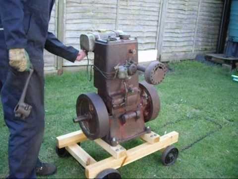 1946 bamford eg1 vintage stationary engine   youtube