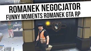ROMANEK GTA RP | ROMANEK NEGOCJATOR | Funny Moments  from Fumfeel Shoty
