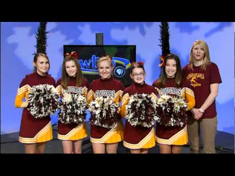 WTVP 40th -- Concordia Lutheran School Cheerleaders - 01/18/2012