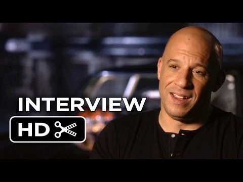 Furious 7 Interview - Vin Diesel (2015) - Paul Walker, Michelle Rodriguez Movie HD