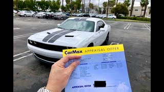 Crazy CarMax offer on my 4 month old Dodge Challenger RT...