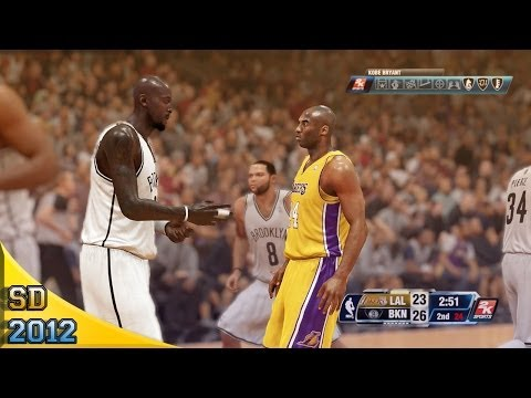 Brooklyn Nets vs L.A. Lakers   NBA 2K14 PS4