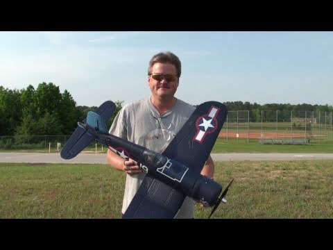 Parkzone F4U Corsair Field Review and Flight By Eric